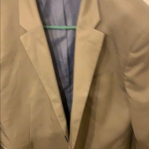 NEW $220 Banana Republic Beige 2 Button Suit